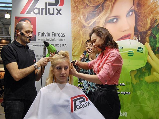 Fulvio Furcas in pedana con il Parlux 3800 Eco Friendly.JPG